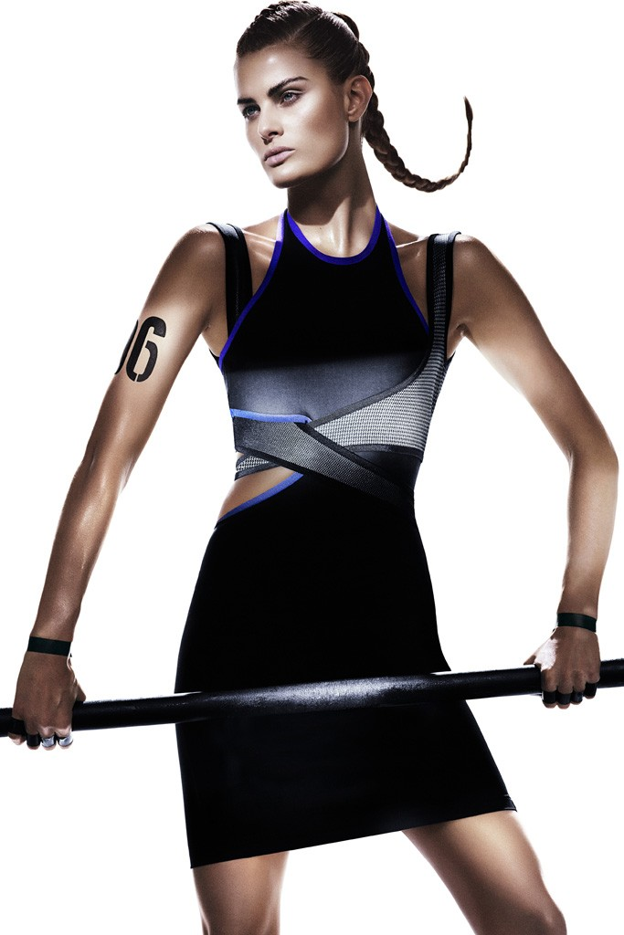 Isabeli Fontana for Alexander Wang x H&M Photo by Mikael Jansson