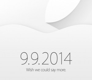 Apple Media Invitations for September 9 Event