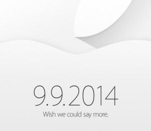 Apple Media Invitations for September 9 Event